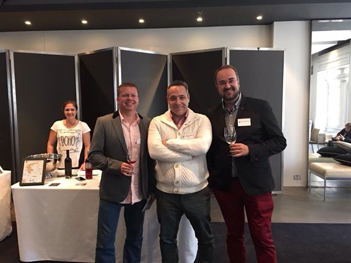 With Conrad from Wine Wankers and Gregory