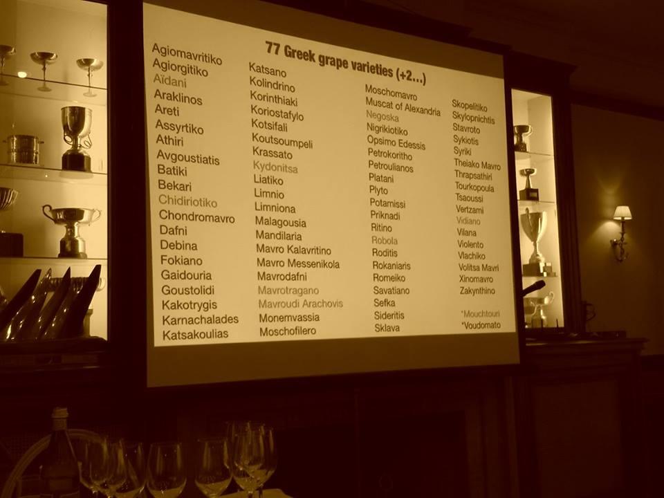 77 plus 2 commercial Greek varieties