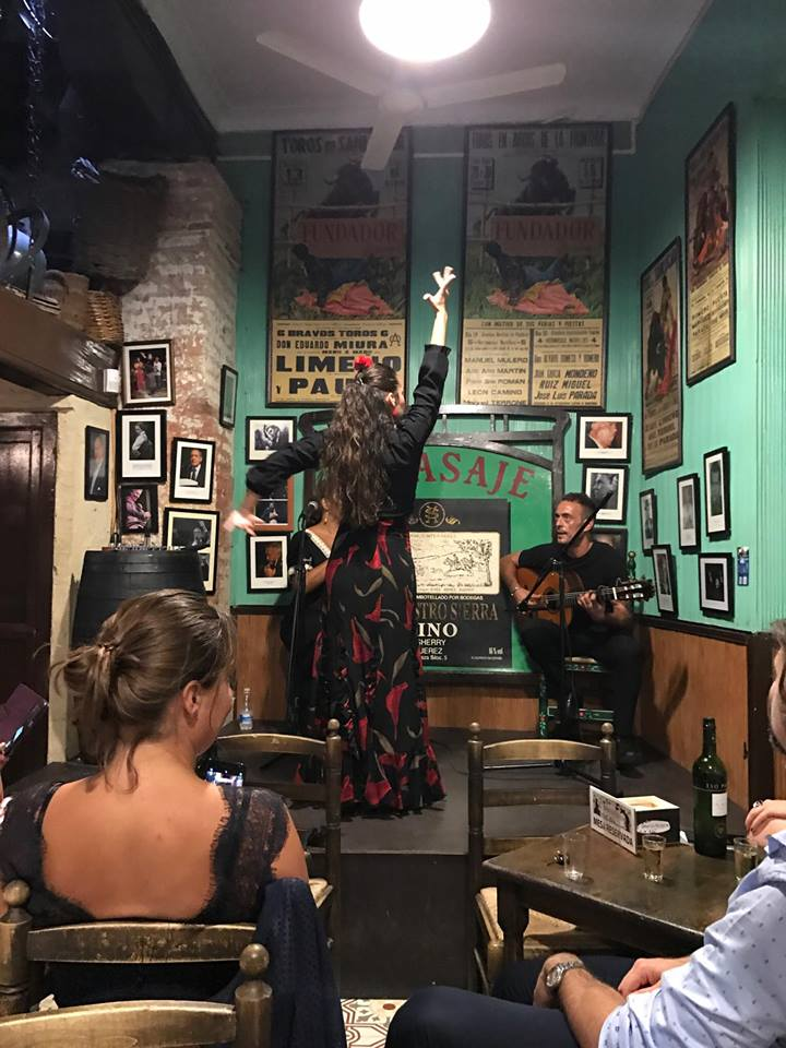 Flamenco in Jerez.