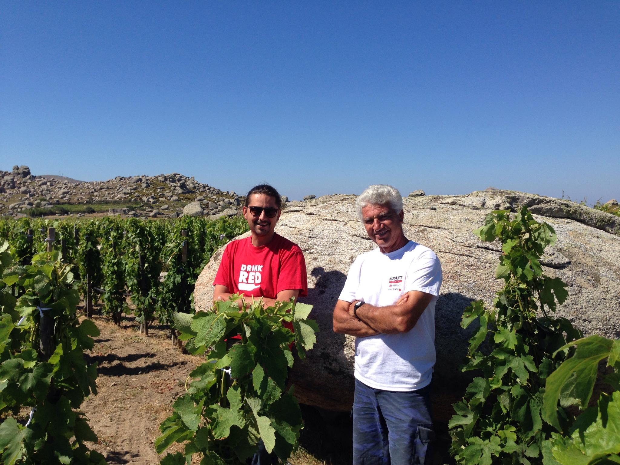 Spyros Zoumboulis with Michalis
