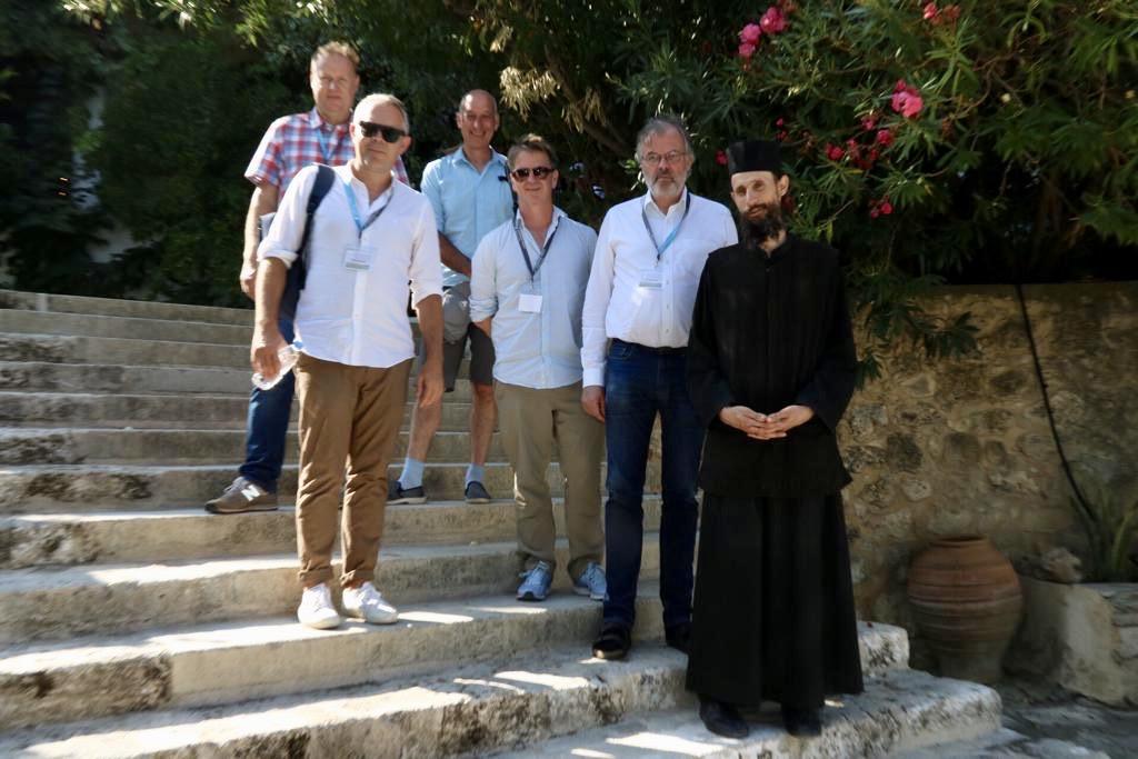 MWs in Cretan Monastery
