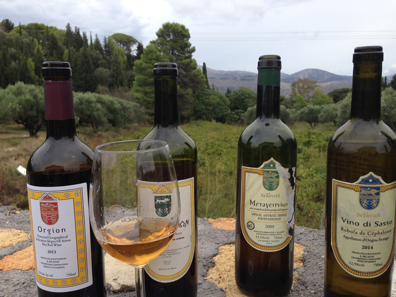 Sclavos' wines