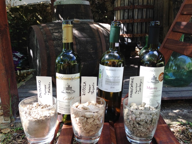 Melissinos' wines